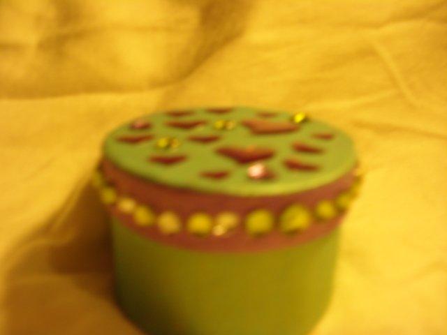 Greenish Aqua & Purple Gift Box!