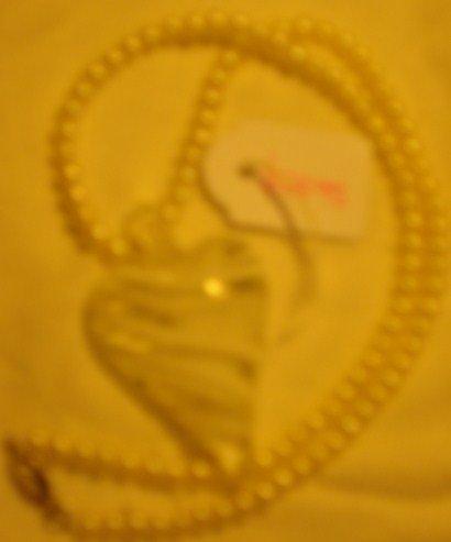 Beautiful Misty Heart Pearl Necklace