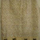 SILK CLUB Beige Knee-Length LEOPARD PRINT LINEN Skirt size 12