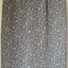 CASUAL CORNER ANNEX Long Brown FLORAL PRINT Skirt size 4P