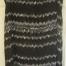 NINE & CO. Black Knee-Length PRINT Skirt size 16