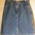 EDDIE BAUER Blue Above-Knee DENIM Skirt size 6P