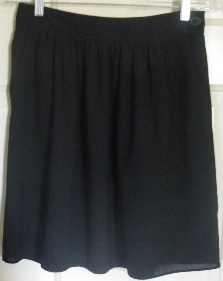 OLD NAVY Black Above-Knee Skirt size 0