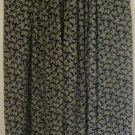 JONES NEW YORK Long Black PRINT Skirt size 12