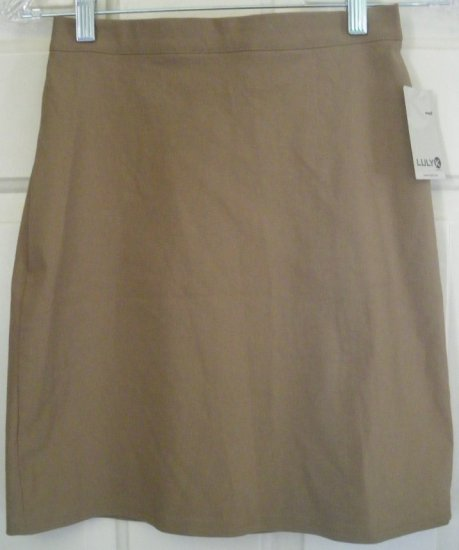 LULY K Goldenrod Mid-Thigh STRETCH Skirt size S *NWT*