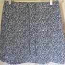 STRINGBEAN Blue Mid-Thigh FLORAL PRINT Skirt size 9