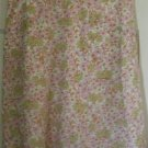 AMERICAN EAGLE OUTFITTERS Yellow Knee-Length FLORAL PRINT Skirt size 6