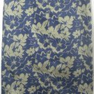 TROUSERS ETC. Long Blue STRETCH FLORAL PRINT Skirt size 8