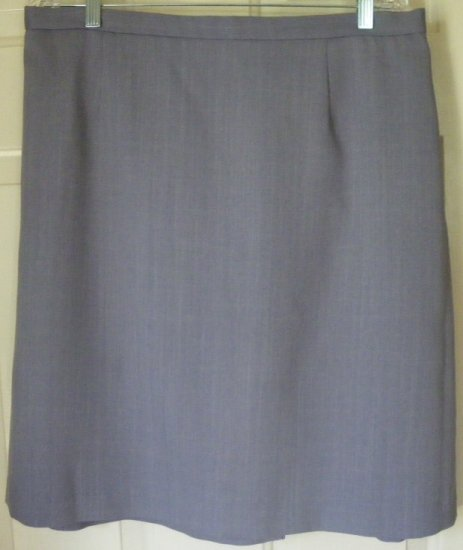 FIRST OPTION TOO! Lavender Knee-Length Skirt size 20W