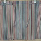 TOMMY HILFIGER JEANS Low Waist Mid-Thigh STRIPED STRETCH Skirt size 11