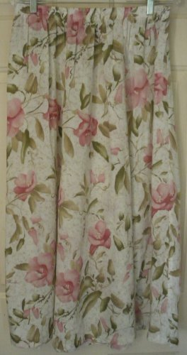 ALFRED DUNNER Long Cream FLORAL PRINT Skirt size 18W