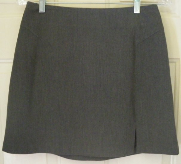 THE LIMITED Gray Mid-Thigh STRETCH Skirt size 4