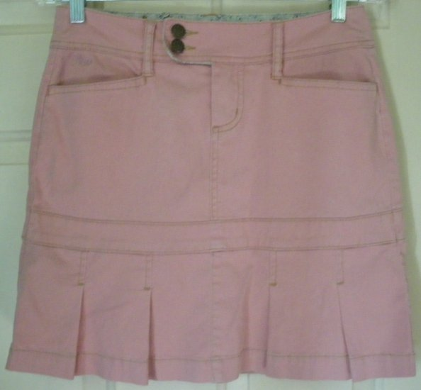 PLUGG Pink Mid-Thigh STRETCH Skirt size 3