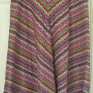 FRENCH CONNECTION Multicolored Mid-Calf HANDKERCHIEF Print Skirt size 4