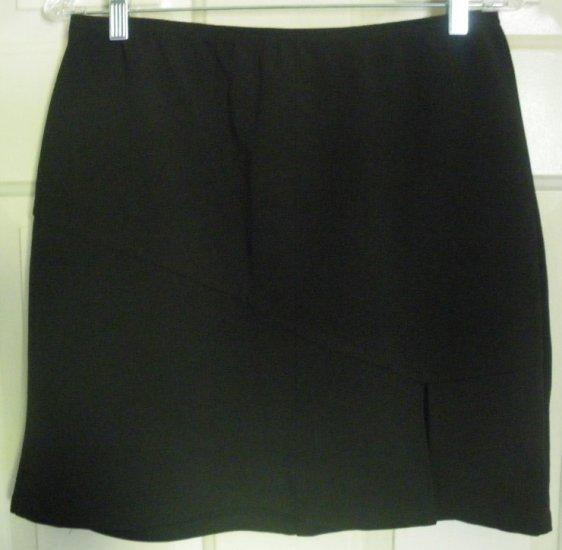 G.D.S. GODDESS Black Mid-Thigh STRETCH Skirt size XL