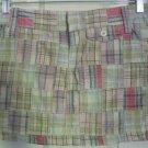 AEROPOSTALE Multi-Color PATCHWORK Mini Skirt size 1/2