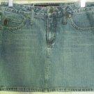 MUDD JEANS Blue Mid-Thigh DENIM Skirt size 7