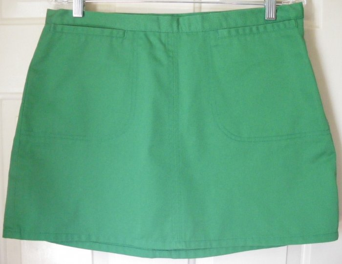 ABERCROMBIE & FITCH Green Mid-Thigh Skirt size 8 *NWOT*