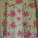 JONES NEW YORK SPORT Green Knee-Length STRETCH FLORAL PRINT Skirt size 8