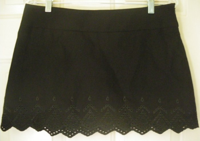GUESS COLLECTION Black Low-Waist STRETCH Mini Skirt size 6