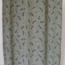 KATHY IRELAND Long Green PRINT Skirt size L