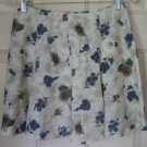 CALIFORNIA CONCEPTS Beige Mid-Thigh FLORAL PRINT Skirt size 5