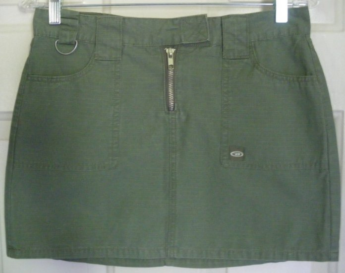 LET ME B. by BONGO Olive Green MINI Skirt size 1