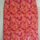 XHILARATION Pink Knee-Length FLORAL PRINT Skirt size S
