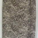 ANN TAYLOR Long Tan WRAP Print Skirt size 4