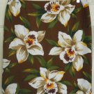 JONES NEW YORK SPORT Brown Above-Knee STRETCH FLORAL PRINT Skirt size 12