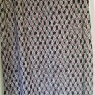 DRESSBARN Long Black MOCK WRAP Print Skirt size 14