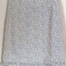 AMERICAN EAGLE OUTFITTERS Above-Knee White Lavender Green Floral STRETCH RUFFLED HEM Skirt size 2
