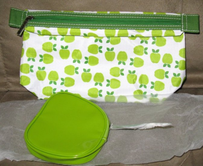 SET OF MAKE UP BAG AND SMALL ONE