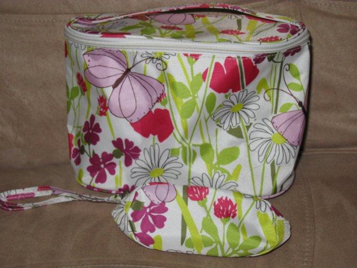SET OF 2 CLINIQUE MAKEUP BAGS
