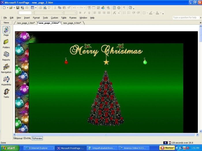 Deck the Halls Holiday Template