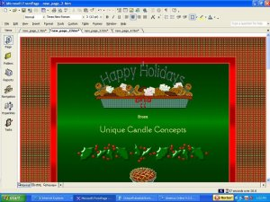 Wreath & Bows (no welcome header) Holiday Template