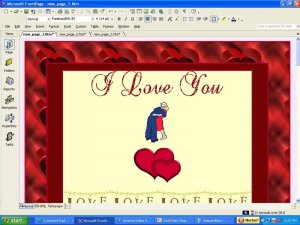 Military Appreciation Valentines Day Template