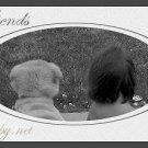 Best Friends - Framed