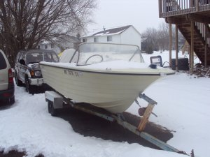 RARE Vintage 1967 16FT 65hp Starcraft Boat With Trailer!