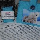 Bear Totem Sachet ( handmade)