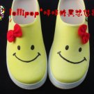 Hand Painted Shoes, 3D Happy Ribbons