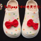Hand Painted Shoes, 3D Ribbons