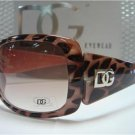 DG Eyewear Pink Animal Print Sunglasses 533 Free Micro Fiber Bag NWT