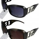 2 DG Eyewear 163 Sunglasses 1 Black 1 Brown/Tort NWT!