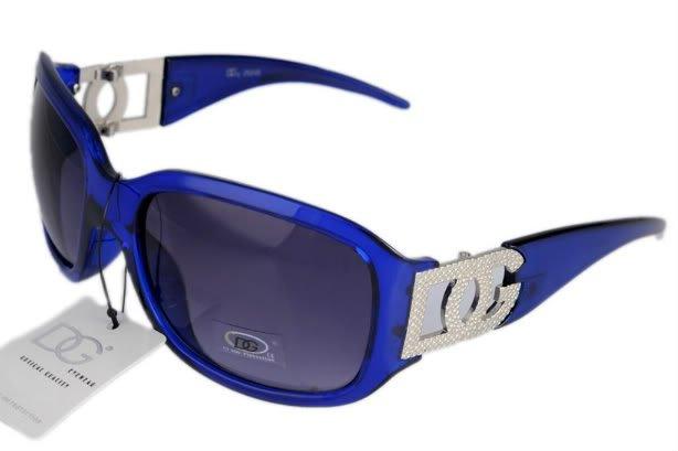 DG Eyewear Blue JE04262L SUNGLASSES w/Micro Fiber Bag