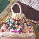 Darling NWT Crochet Hippie Grannie Bag