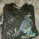 Ed Hardy Ellen North South Tote 100% Authentic HUGE!