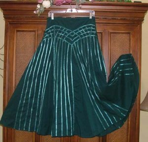 Fancy Funky Ribbons Everywhere Skirt S