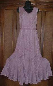 Huge Sale Stone Wash Swishy Pieced Dress M  L 4 Colors