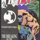 BATMAN #497 (JULY 1993 KNIGHTFALL #11)  Double Cover